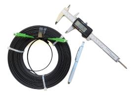04. ДКН - дроп-кабель навивной оконцованный (бухта 100м)