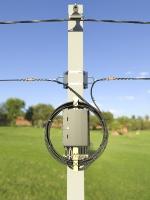 2-6. Подключенные дроп-кабели прикреплены и навиты на ОКСН